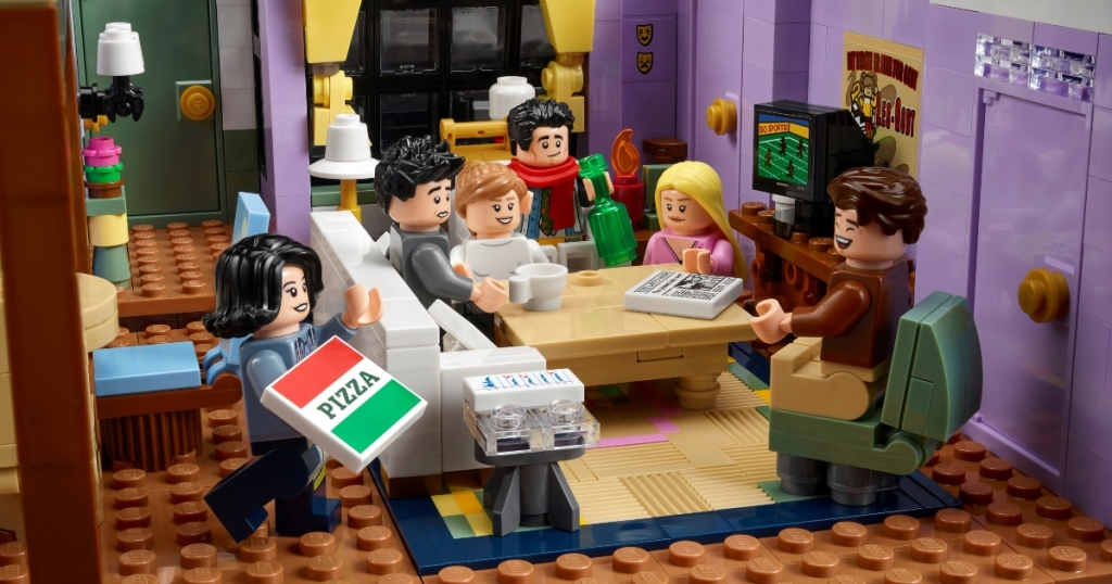 LEGO set featuring Friends apartment