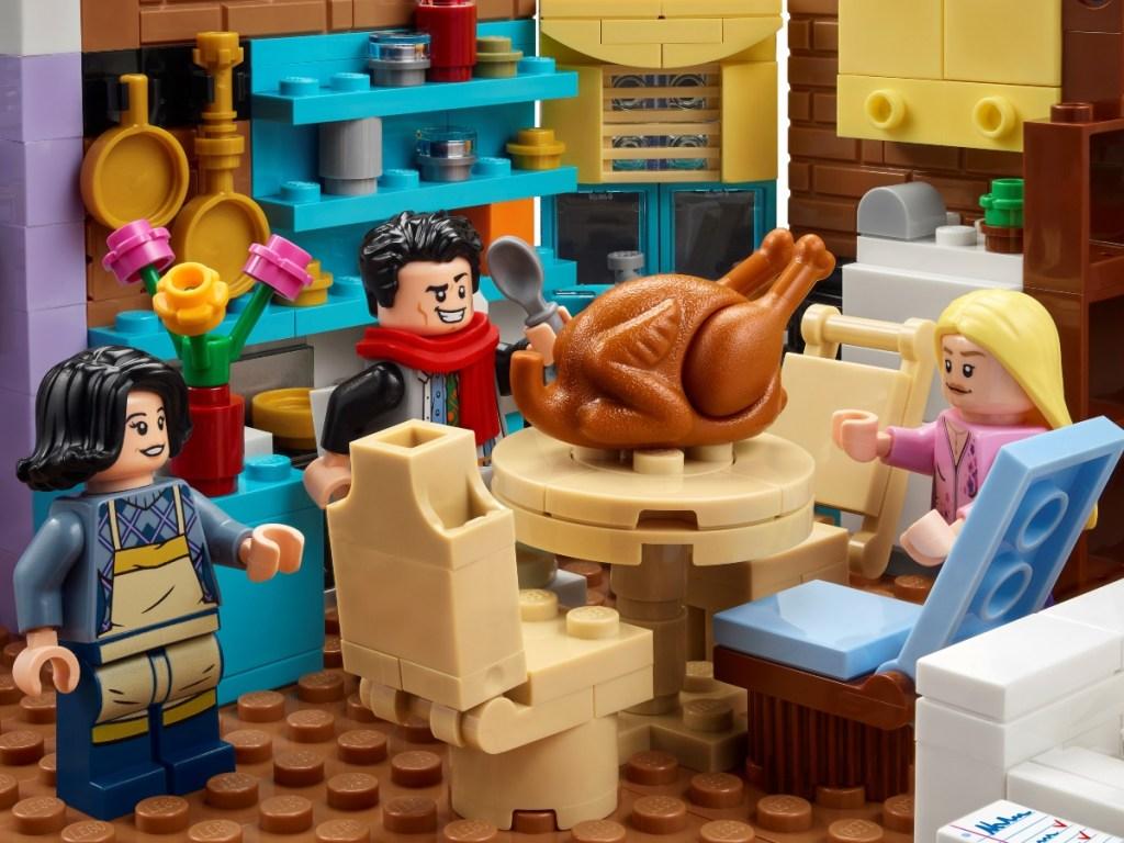 LEGO Friends Thanksgiving scene