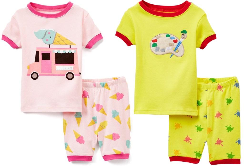 2-piece pajama sets for kids