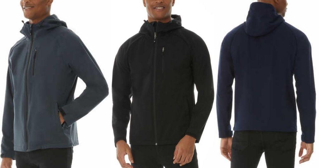3 views of 32 Degrees Men's Active Jacket