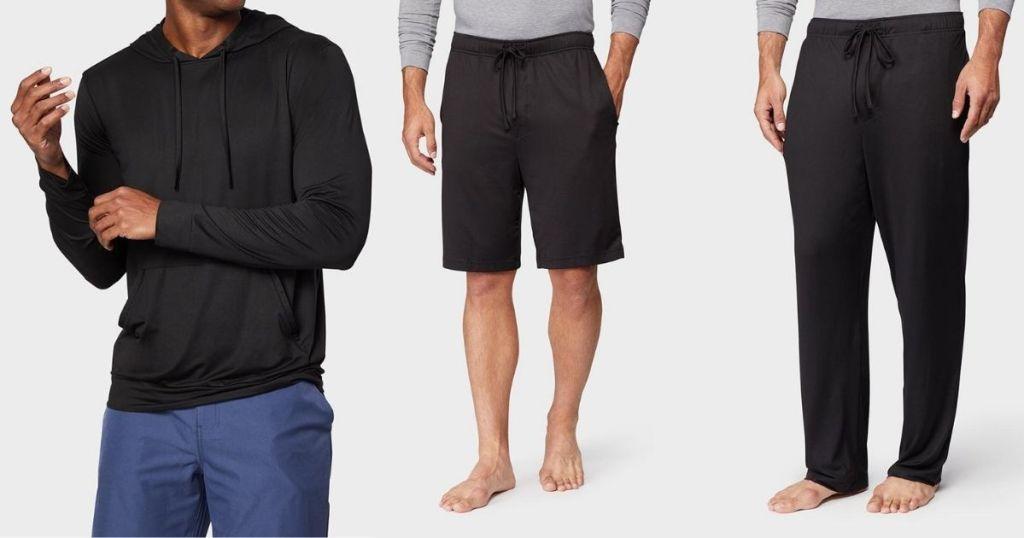 men wearing 32 Degrees shirt and pants