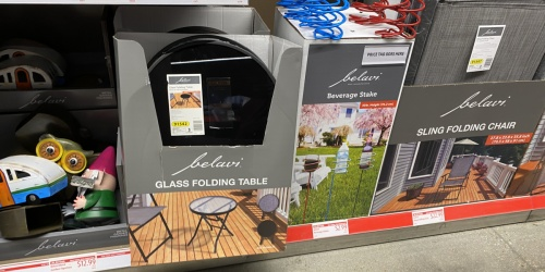 Patio Furniture for Summer from $19.99 at ALDI | Folding Table, Chairs, & More