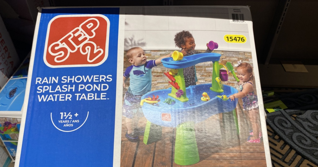 Step 2 brand water table