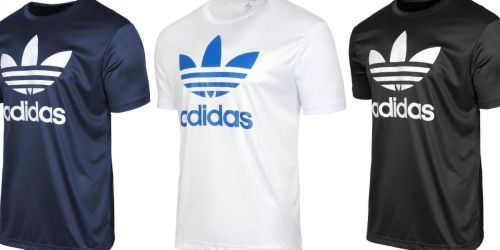 THREE Adidas Men's Trefoil Performance Tees Only $30 (Regularly $25 Each)