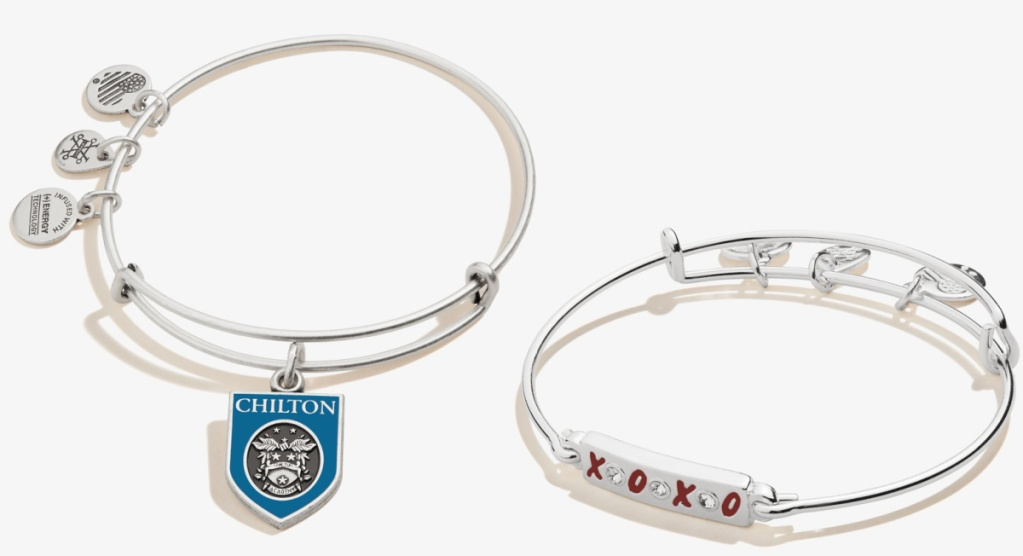 Alex & Ani charms in gilmore girls show theme
