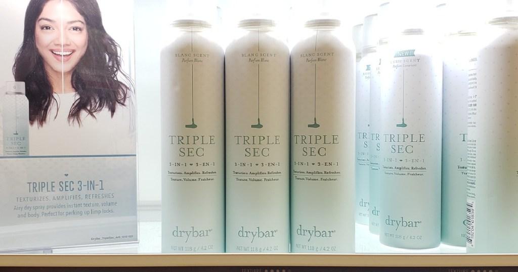 dry bar triple sec spray