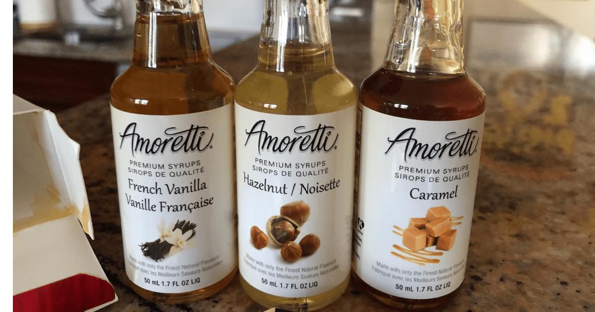 Amoretti Syrups Small