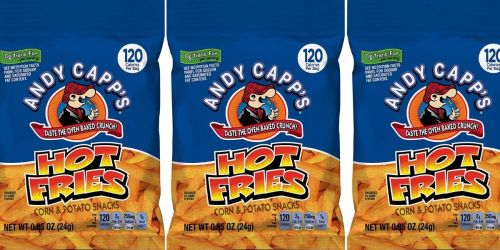 Andy Capp's Hot Fries 72-Count Pack Only $12.51 Shipped on Amazon