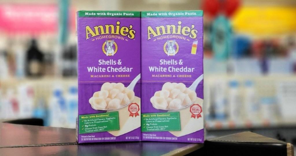 Annie's Shells & White Cheddar Boxes