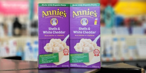 Annie's Macaroni & Cheese 12-Pack Only $9 Shipped on Amazon + Save on Cookies, Crackers & More