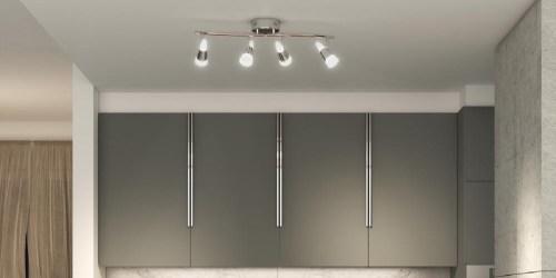 Chrome LED 4-Light Kit Only $39.97 Shipped on Home Depot + More Home Lighting Deals