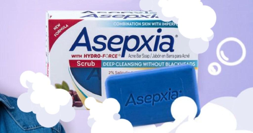 asepxia bar scrub soap