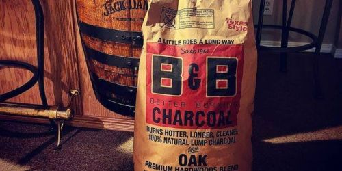 All Natural Oak Hardwood Charcoal 20-Pound Bag Only $11.99 (Regularly $18)