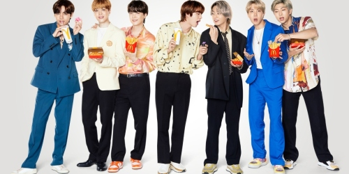 New McDonald's x BTS Meal Just Launched for a Limited Time