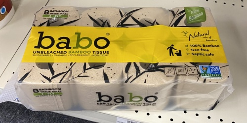 Bamboo Bath Tissue Roll 16-Count Only $7.99 After CVS Rewards | Just 50¢ Per Roll