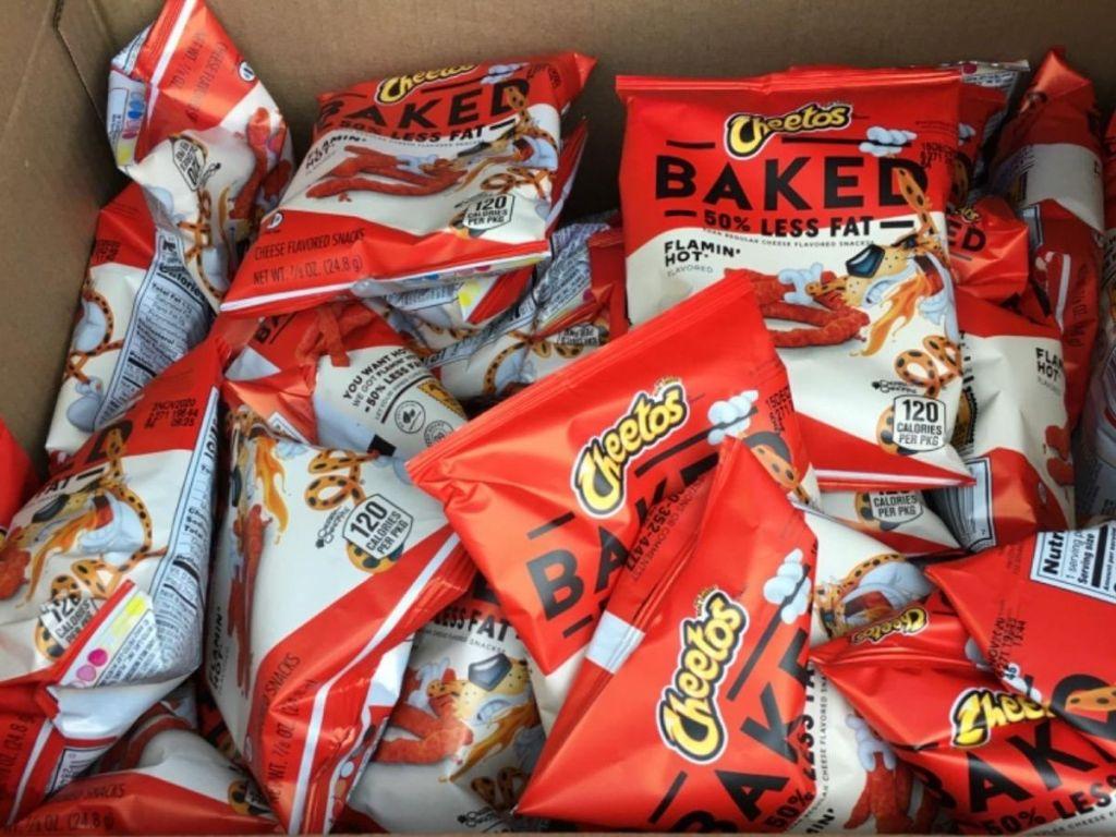 Baked Flaming Hot Cheetos