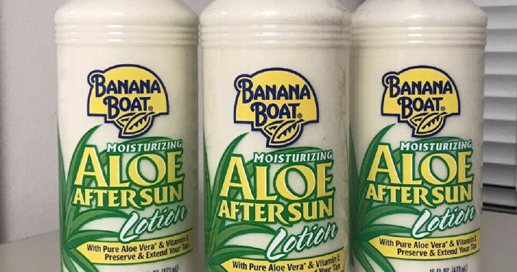 Banana Boat After Sun Cooling Lotion
