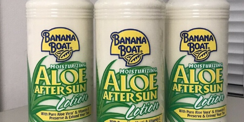 Banana Boat Aloe After Sun Lotion Pump Bottles Only 49¢ Each on Walgreens.com