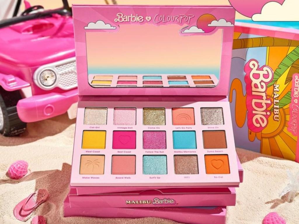 Barbie Colourpop palette