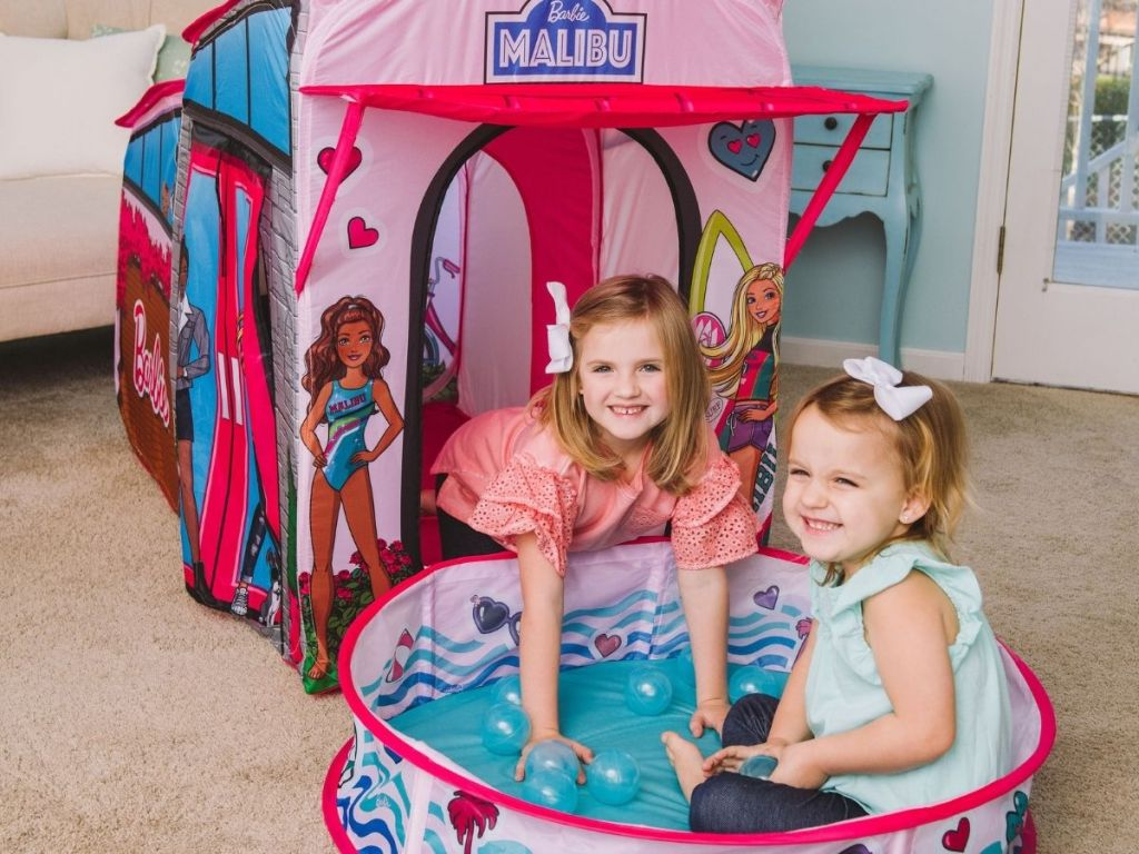 Barbie Pop-Up Tent