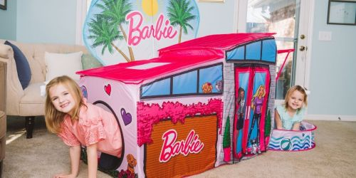 Barbie Dreamhouse Pop Up Tent w/ Ball Pit Only $29.97 on Walmart.com (Regularly $50)