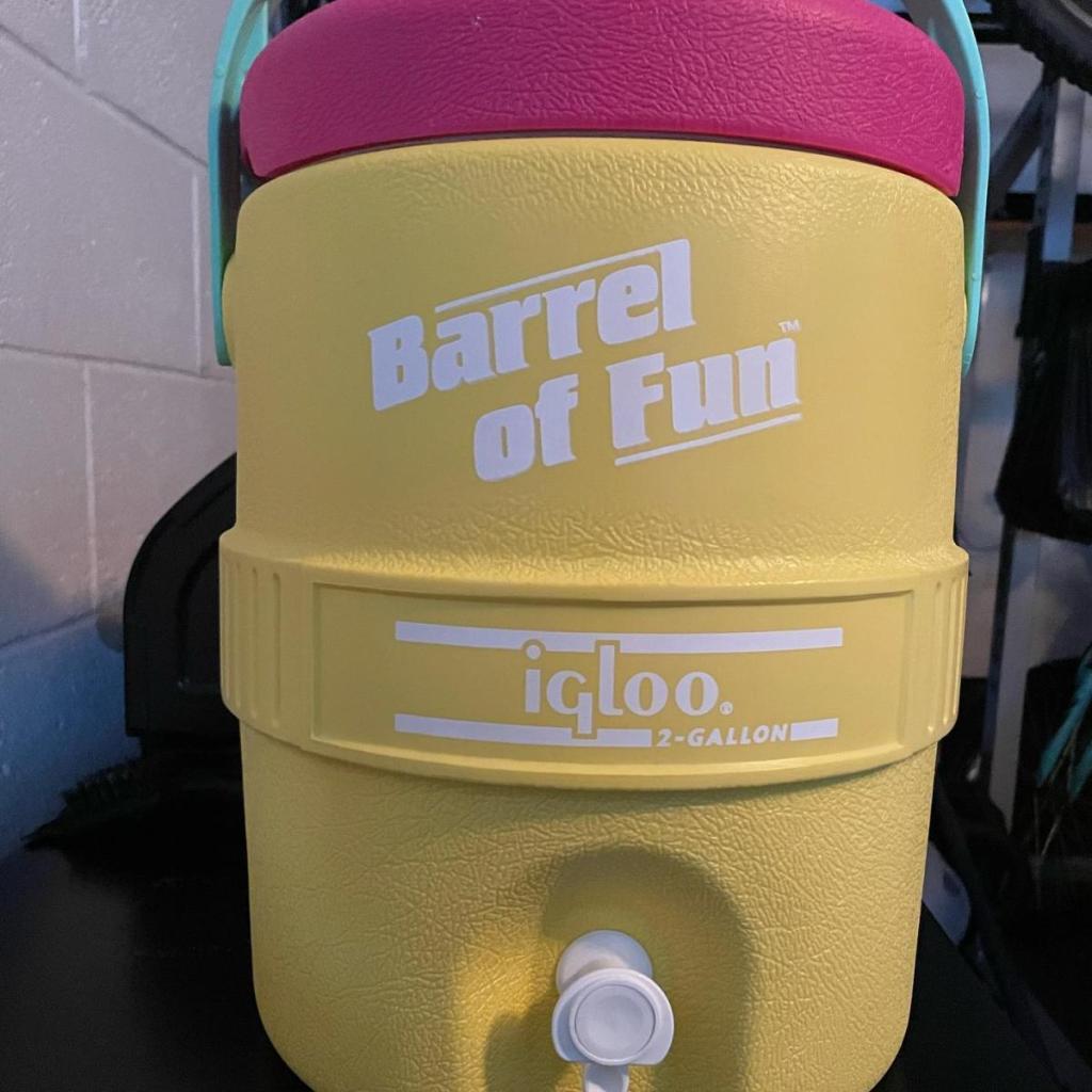 Barrel o Fun Igloo Cooler