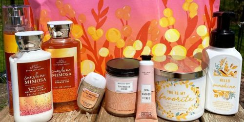 $208 Worth of Bath & Body Works Items Just $84 w/ Free Store Pickup (Includes Spring Tote w/ 9-Full-Sized Items)