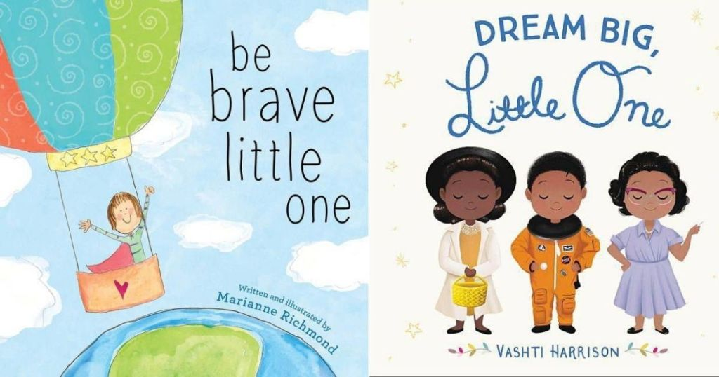 Be Brave and Dream Big Books