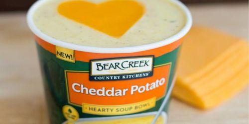 Bear Creek Cheddar Potato Soup Bowl 6-Pack Only $5 Shipped on Amazon