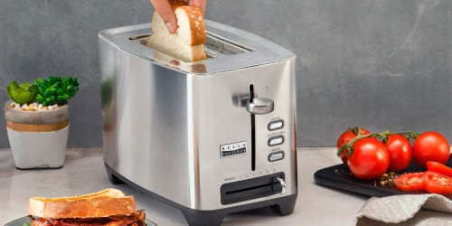 Bella Pro 2-Slice Extra-Wide Stainless Steel Toaster Only $19.99 on BestBuy.com (Regularly $50)