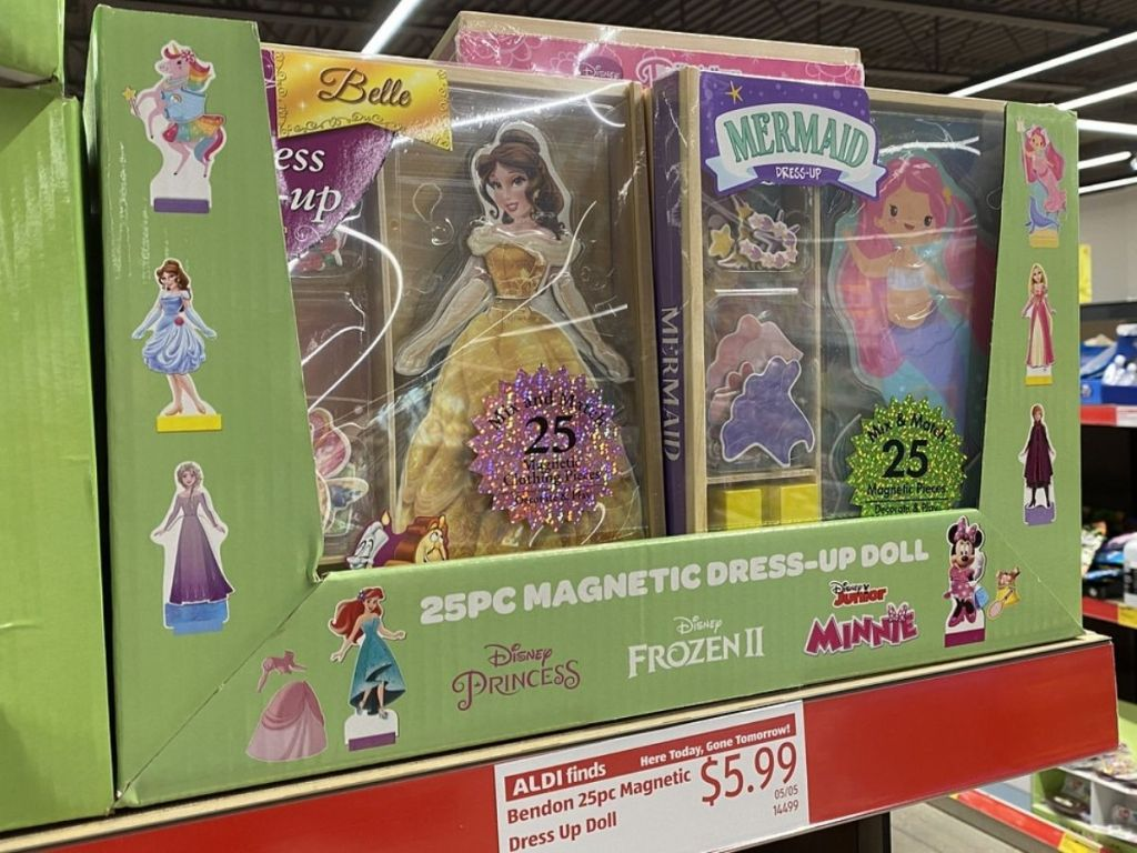 Bendon Magnetic Dress Up Doll
