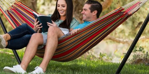 Double Hammock w/ Carrying Bag Only $16.99 Shipped (Regularly $43)