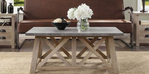Better Homes & Gardens Farmhouse Coffee Table Only $99 Shipped on Walmart.com