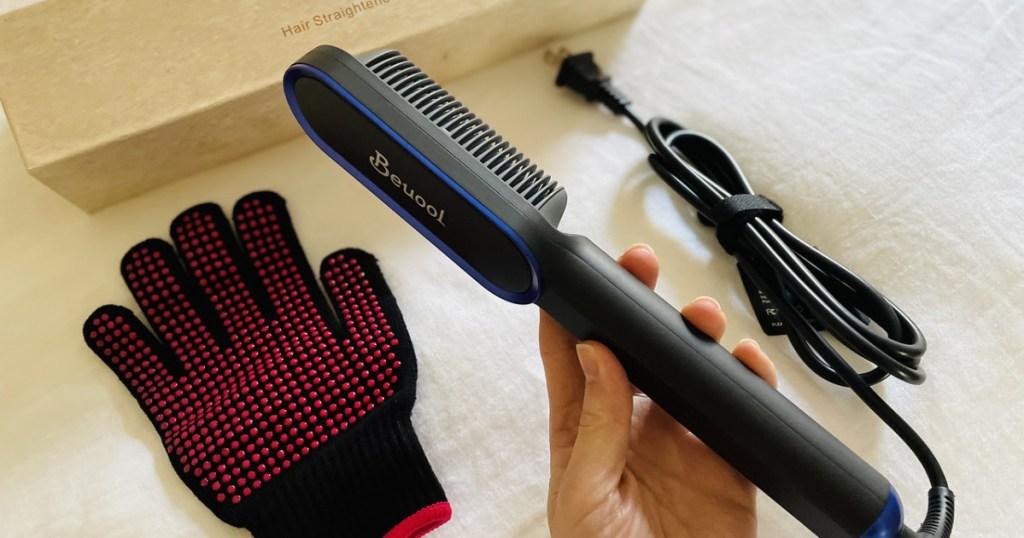 hair straightener set