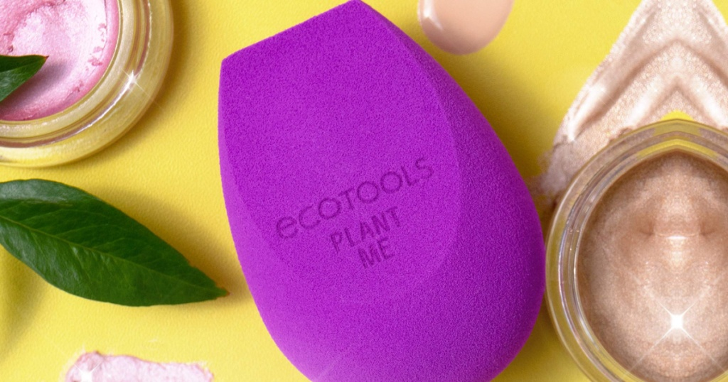 purple bioblender beauty makeup sponge