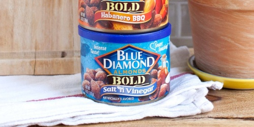 Blue Diamond Almonds 6oz Cans 12-Pack Just $18 Shipped on Amazon | Only $1.50 Each