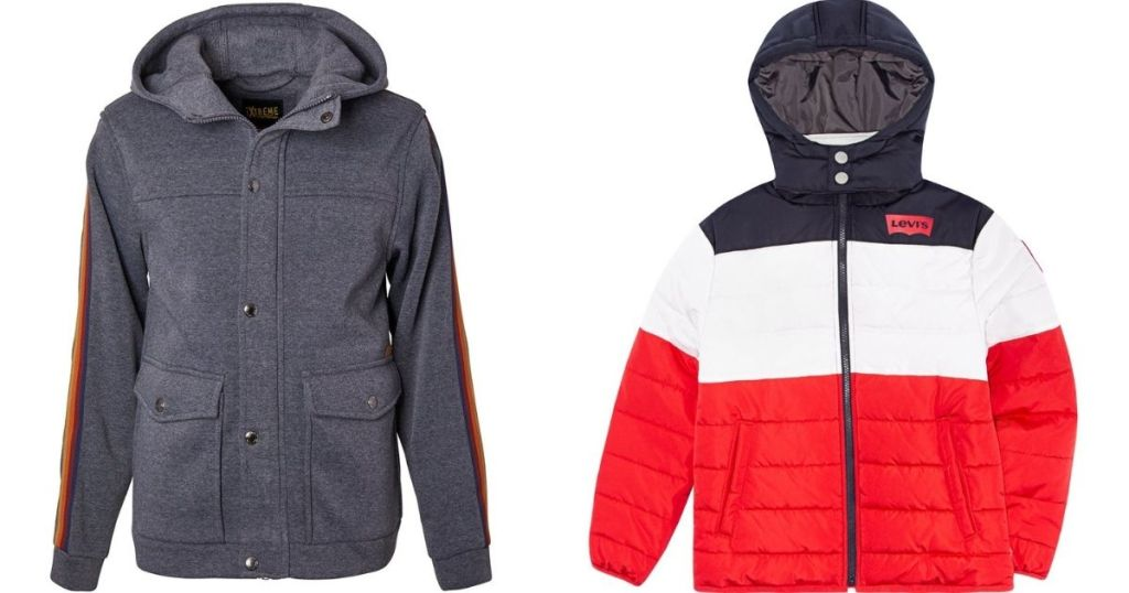 two boys jackets