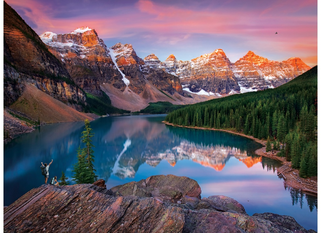 buffalo games mountains on fire jigsaw puzzle