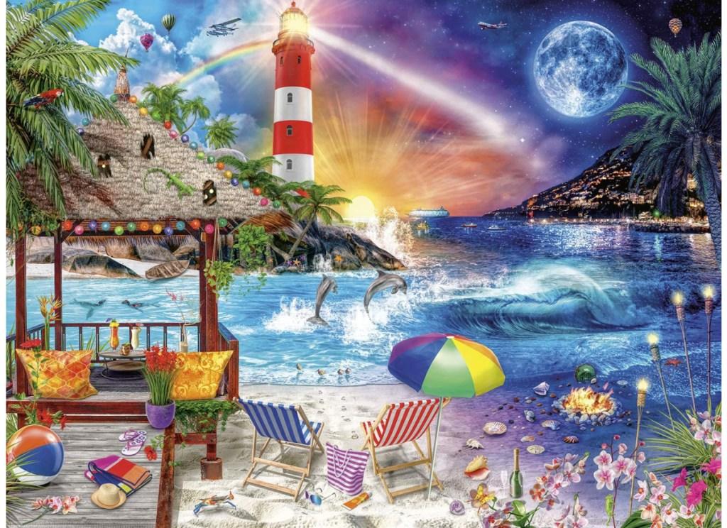 lifes a beach buffalo games jigsaw puzzle