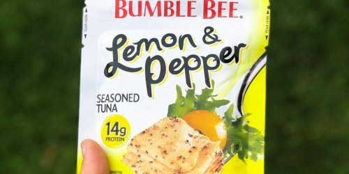 Bumble Bee Seasoned Tuna Pouches 12-Pack Only $9.67 Shipped on Amazon | Just 81¢ Each