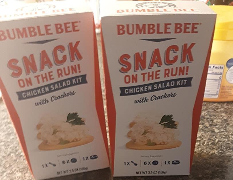 Bumble Bee Snack on the Run Kits