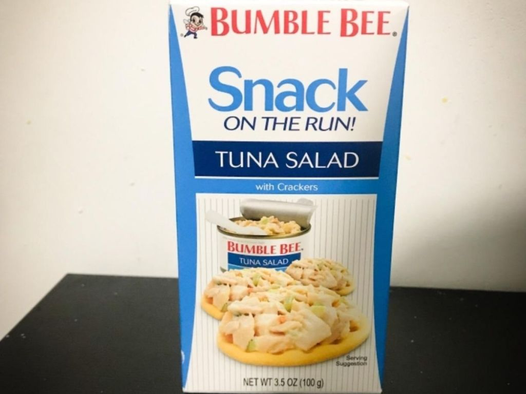 Bumble Bee Snack on the Run!