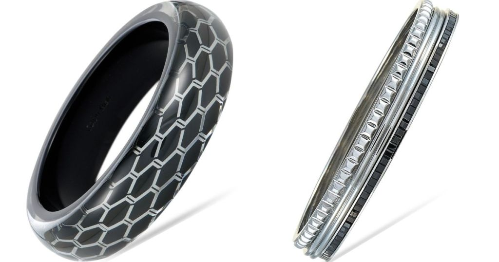 two Calvin Klein Bracelets