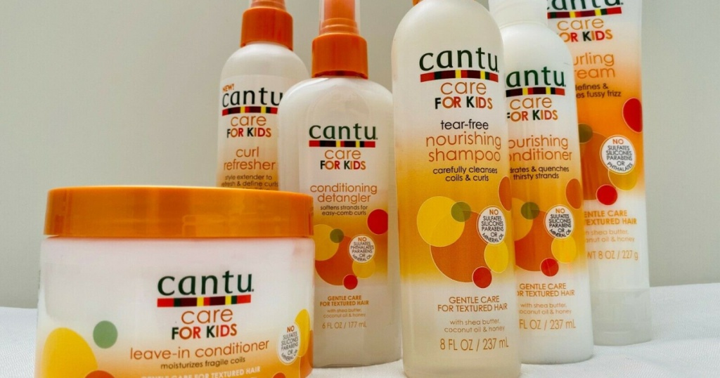Cantu Care for Kids Hair Products