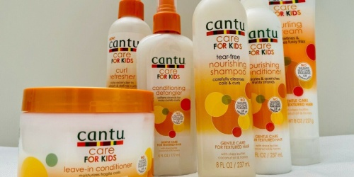 Cantu Care for Kids Hair Products from $2.99 Shipped on Amazon (Regularly $5)