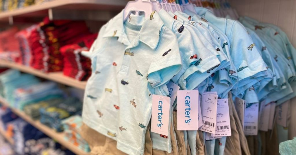 Carter's Outfits at the store