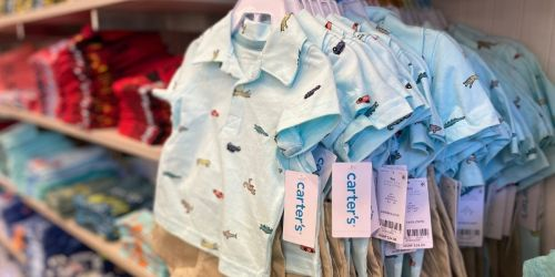 Carter's Sets from $11 (Regularly $20)   Up to 60% Off Baby Apparel