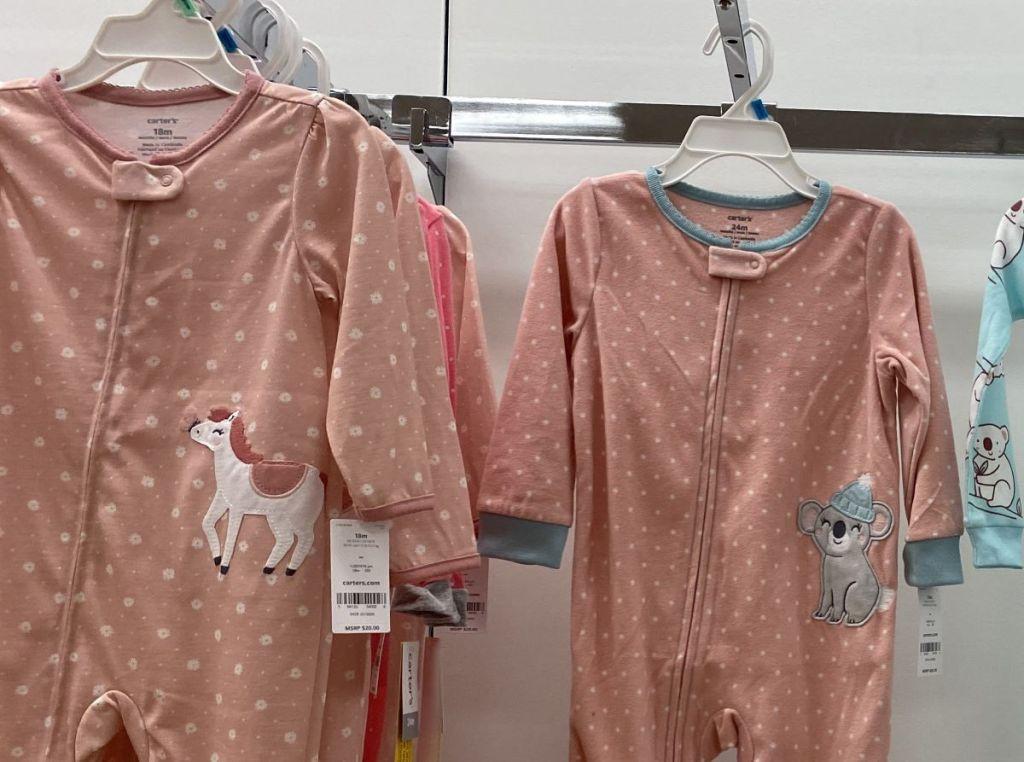 Carter's Pajamas at Kohl's