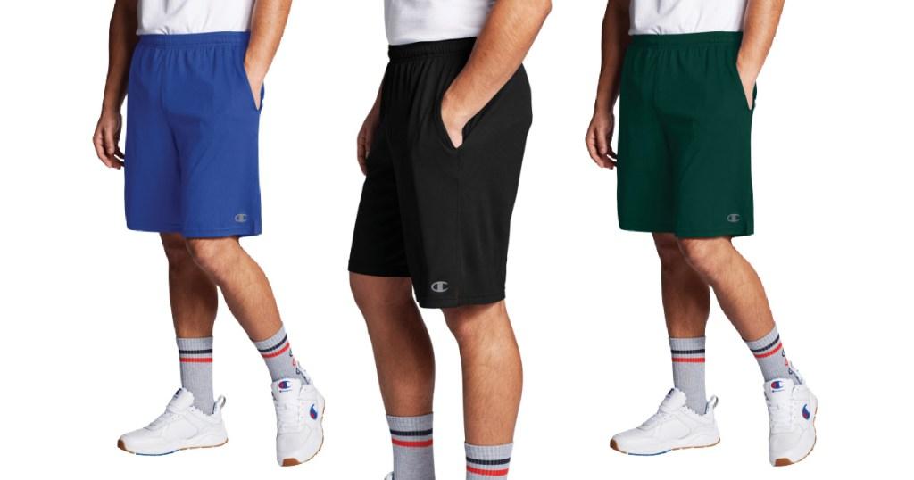 "Champion Men's Double Dry Cross-Training 10"" Shorts"