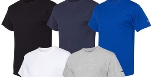 Champion Men's T-Shirts 4-Pack Only $18.99 Shipped (Just $4.75 Each)